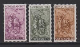 VATICAN, 1966, Mint Hinged Stamps , The Nativity, 514-516, #3882 - Vatican