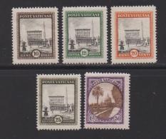 VATICAN, 1933, Mint Hinged Stamps , Definitives , 20=25, #3895 - Vatican