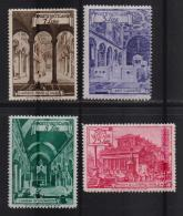 VATICAN, 1949, Mint Hinged Stamps , Basilicas , 139=145, #3908 4 Values Only - Vatican