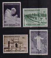 VATICAN, 1964, Mixed Stamps  Pope Paul's Visit To India, 467-470, #3918, Complete - Vatican