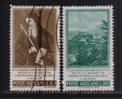 VATICAN, 1965, Mixed Stamps,  St. Benedict Declaration,458-459, #3927, Complete - Vatican