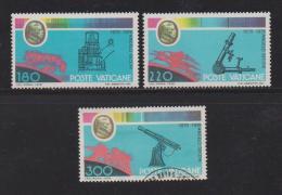 VATICAN, 1979, Mixed Stamps,  Meteorograph, 745-747, #4337, Complete - Vatican