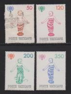 VATICAN, 1979, Mixed Stamps,  Year Of The Child, 755-758, #4339 Complete - Vatican