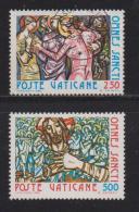 VATICAN, 1980, Mixed Stamps,  Feast Of All Saints, 775-776, #4342 Complete - Vatican