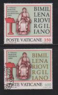 VATICAN, 1981, Mixed Stamps, Virgil And His Writing Desk, 783-784, #4345 Complete - Vatican