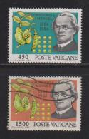 VATICAN, 1984, Mixed Stamps, Mendel And Hybrid Exp. 844-845, #4397 Complete - Vatican