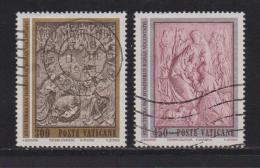 VATICAN, 1982, Used Stamps, Christmas, 814-815, #4395 Complete - Vatican
