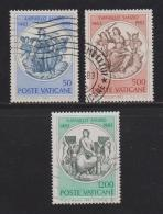 VATICAN, 1983, Used Stamps, Theology, 826-829, #4396  3 Values Only - Vatican