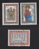 VATICAN, 1985, Used Stamps, Pope Gregory VII, 873-875, #4406 Complete - Vatican