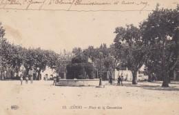 CUERS - VAR - (83) - CPA ANIMEE 1917. - Cuers