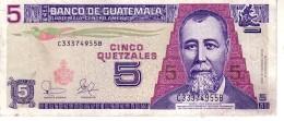 Guatemala P.106 5 Queztal 2003 Xf - Guatemala
