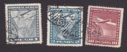 Chile, Scott #C39-C40, C46, Used, Planes Over Chile, Issued 1934 - Chile
