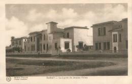 Cpa - Maroc  -    Rabat  -  Le Lycée De Jeunes Filles           AH1985 - Rabat