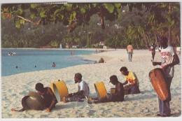 Antilles - Grenada - Local Musicians Entertain Visitors At Grand Anse Beach - Grenada