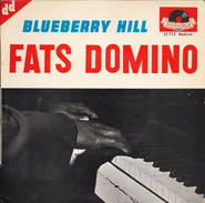 """FATS DOMINO-""""Blueberry Hill""""-super 45 T.(4 Titres)--Polydor-BE - Blues"""