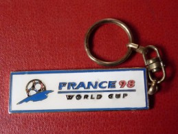 PORTE-CLEF - FRANCE 98 - WORLD CUP - Football- - Porte-clefs