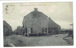 Ocquier Bifurcation Des Routes De Durbuy ,de Marche ,de Huy  Edit. Thirifays Ledoux - Clavier