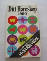 Ditt Horoskop 1990 Av Patricia Frank - Books, Magazines, Comics