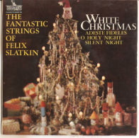 Felix Slatkin – White Christmas - VG+/NM - Christmas Carols