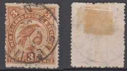 New Zealand Mi# 70 Used 3P 1898 Bird - Used Stamps
