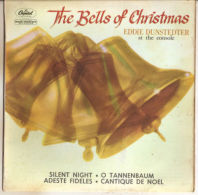 """Eddie Dunstedter At The Console* - The Bells Of Christmas (7"""", EP) - VG+/NM - Christmas Carols"""