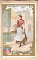 LOT DE 2 CHROMOS -  CHROMO CHOCOLAT POULAIN + CHROMO Le Piment - Poulain