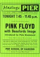 Postcard - Hastings Pier, Pink Floyd Poster - 20th January 1968, Sussex. C-50920X - Hastings