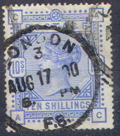 GREAT BRITAIN 109, Used, VF,  SG 183-183a, Pale Ultra/ultra Sound, SCV$550, RARE...(gb109-19....[16-eer.. - 1840-1901 (Victoria)