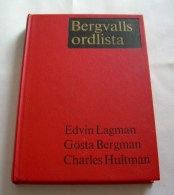 Bergvalls Ordlista 1966 Av Edvin Lagerman, Gösta Bergman, Charles Hultman - Books, Magazines, Comics