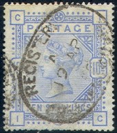 GREAT BRITAIN   109b,   Used, VF,  SG177, Sound, SCV$ 8500, RARE   (gb109b-1....[16-hert - Used Stamps