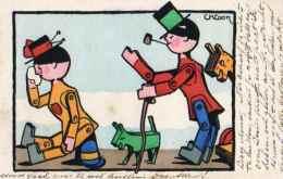 Illustrateur CK Cook Marionnette (vienne 247) - Illustratori & Fotografie