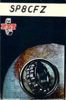 Amateur Radio QSL Card - SP8CFZ - Poland - 1968 - 2 Scans - Radio Amateur