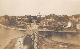 Pleskau, Russia Panoramic View - Orthodox Church From River - Vintage Postcard - Russie - Russia