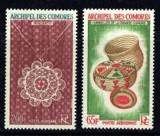1963  Corbeilles Et Pendentif  Poste Aérienne  PA8-9  **  MNH - Unused Stamps