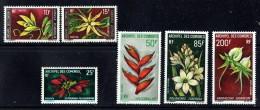1969-70  Fleurs Poste Et   Poste Aérienne  Yv 53-6, PA 26-8   **  MNH - Unused Stamps