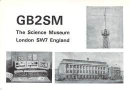 Amateur Radio QSL Card - GB2SM - Science Museum - London, ENGLAND - 1968 - 2 Scans - Radio Amateur