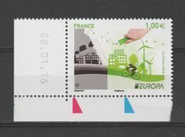 """FRANCE / 2016 / Y&T N° 5046 ** : Europa : """"Think Green"""" (unité Datée) - Gomme D´origine Intacte - Neufs"""