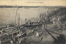 Kayes (Mali) - Départ D'un Convoi De Chalands (au Bord Du Sénégal?) - Collection Albaret - Mali