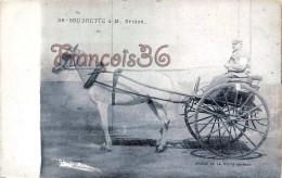 Soubrette à M. Bridon - Calèche Attelage Hippisme - Course De La Petite Gironde - Fiacre - 2 SCANS - Cartoline