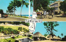 Tamatave, Madagascar - Multivues: Hotel Joffre, Foulpointe, Plage, Piscine Et Stade - Madagascar