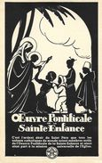 Illustration: La Vierge Et L'enfant - Oeuvre Pontificale De La Sainte Enfance - Carte Non Circulée - Vierge Marie & Madones