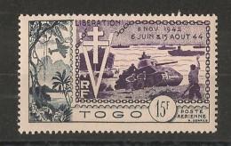 Togo - Poste Aérienne N°22 - WW2 - Neuf ** Luxe - MNH - Postfrisch - Cote 7.5 EUR - 2. Weltkrieg