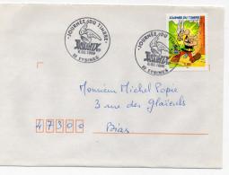 F. D. C. FRANCE - Journée  Du Timbre 1999 Asterix 33 Eysines   Y.T. 3225 - 1990-1999