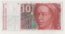 Billet 10 Francs Suisses. Leonhard Euler - Suisse