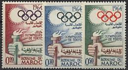 Maroc, N° 476 à N° 478** Y Et T - Morocco (1956-...)