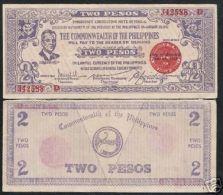 Philippines 2 Pesos 1942 VF + - Philippines