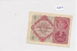 Billets - B2106 - Autriche - Hongrie - Billet 2 Kronen 1922 ( Type, Nature, Valeur, état... ) - Bankbiljetten