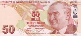 TURKEY 50 TURK LIRASI 2009 P-225a UNC SIGN. YILMAZ & YÖRÜKOĞLU. PREFIX A [TR303a] - Turkey