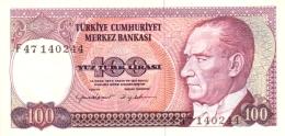 TURKEY 100 TURK LIRASI L.1970 (1984) P-194b UNC SIGN. CANEVI & YILDIRIM. [TR270c] - Turkey