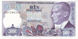 TURKEY 1000 TURK LIRASI L.1970 (1988) P-196b UNC SIGN. SARACOĞLU & DEMIRAY [TR272b] - Turkey
